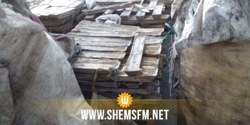 نابل: حجز حوالي 38،5 طنا من النحاس والسبائك المعدنية