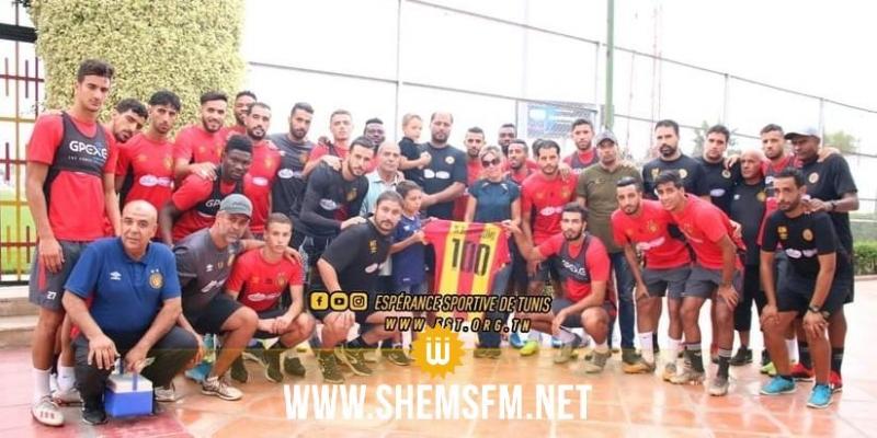 الترجي الرياضي التونسي يُكرم عائلة المرحوم نعيم البرهومي
