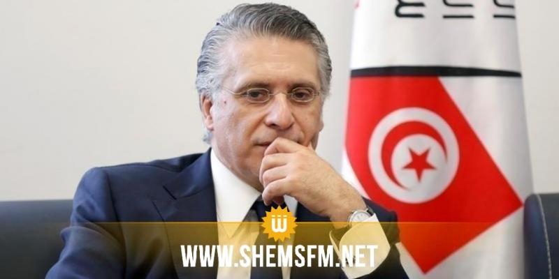 حملة نبيل القروي تؤكد عدم انسحابه من السباق الرئاسي