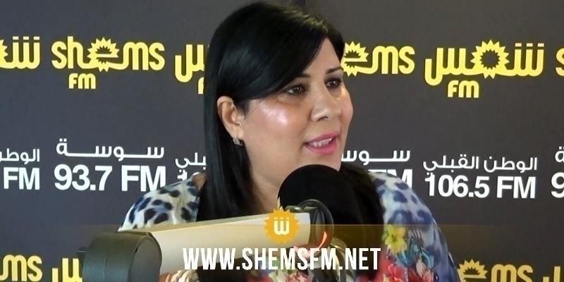 عبير موسي: لن ندخل في تحالفات مع حركة النهضة ومشتقاتها
