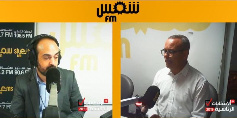 عماد الخميري: '20% من الأصوات التي تحصل عليها قيس سعيد متأتية من دعم النهضة'