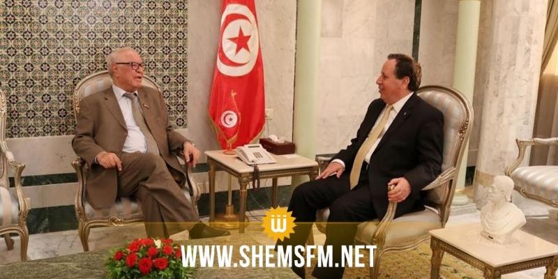 بمناسبة انتهاء مهامه: وزير الخارجية يستقبل سفير الجزائر بتونس