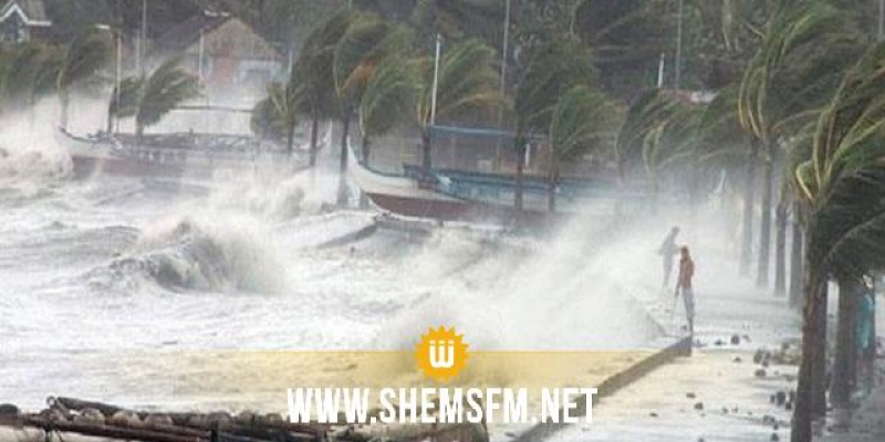 إعصار اليابان: إرتفاع عدد القتلى إلى 58 شخصا