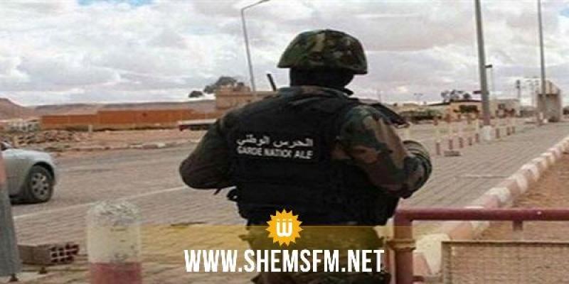 سبيطلة: ضبط 3 أشخاص بصدد اجتياز الحدود الجزائريّة التّونسيّة خلسة