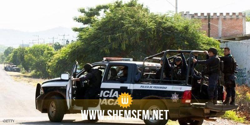 المكسيك: مقتل 15 شخصا في معركة بأسلحة نارية
