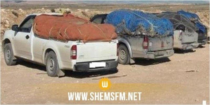 حجز 34 كلغ من المصوغ و655 هاتف جوال على متن سيارة ليبية