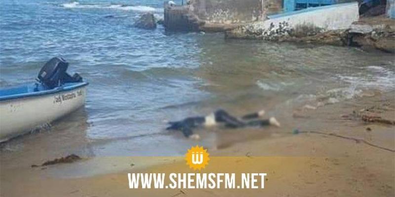 انتشال جثتين لامرأتين في البحر بجزيرة قرقنة