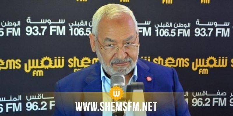 الغنوشي: 'حركة تحيا تونس من الأحزاب المُرشحة للحوار والتفاوض معها'