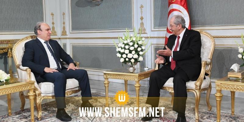 استكمال الاستحقاقات الانتخابية محور لقاء محمد الناصر بنبيل بفون