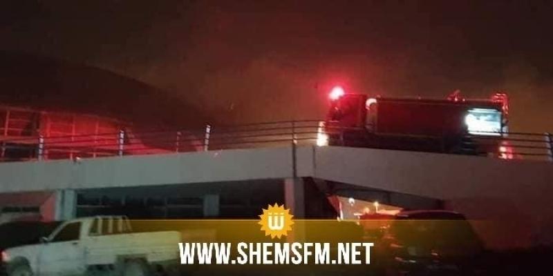 Incendie au Palais des Sports d'El Menzah : arrestation de deux personnes