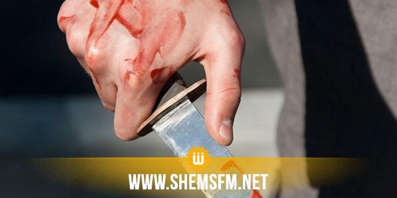منزل بورقيبة: شاب يقدم على قتل 'عمه' طعنا بسكين