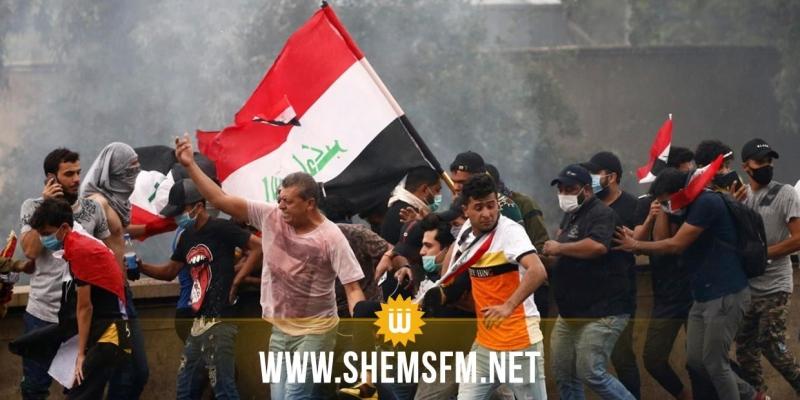 الحكومة العراقية تحذر مواطنيها: الإحتجاجات تؤخر وصول المواد الغذائية