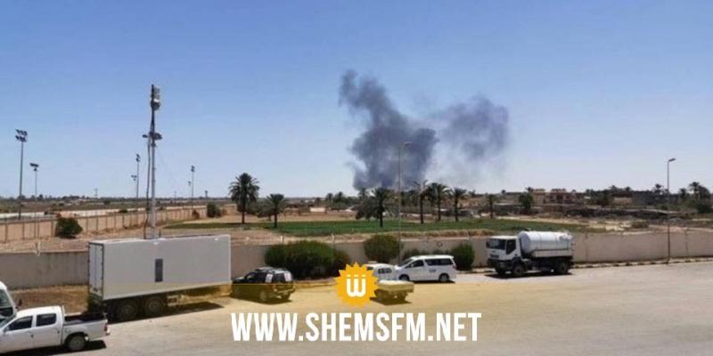 ليبيا: تدمير قواعد لتخزين طائرات