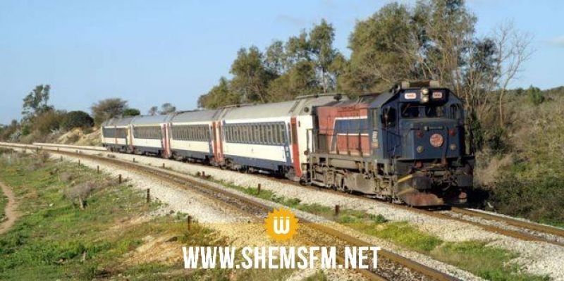 شركة السكك الحديدية تنفي توقف قطار بسبب النقص في المحروقات