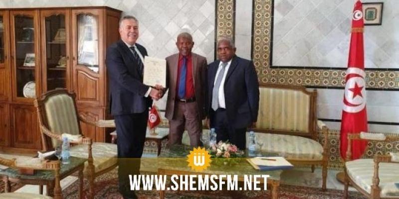 صبري باش طبجي يلتقي مستشار رئيس جمهورية القمر المتحدّة