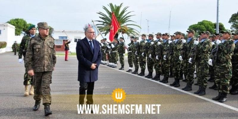 وزير الدفاع يؤدي زيارة تفقد إلى فيلق القوات الخاصة بمنزل جميل