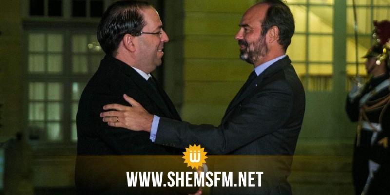 باريس: رئيس الحكومة يجرى لقاء مع الوزير الأول الفرنسي