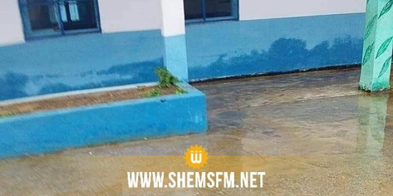 أريانة: تراكم المياه بمدرسة اليمامة والدروس بالتناوب