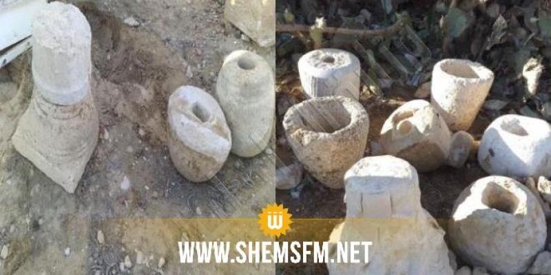 حجز 17 قطعة أثرية تعود للحقبة الرومانية بسيدي بوزيد