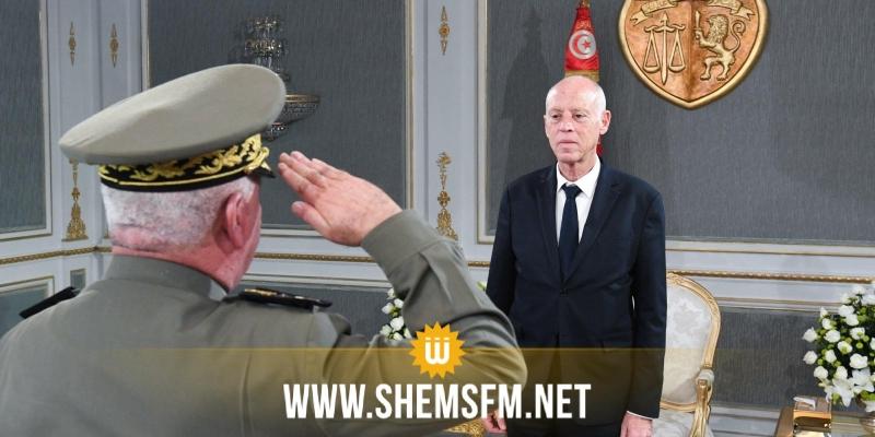 رئيس الجمهورية يستقبل مدير عام وكالة الاستخبارات والأمن للدفاع