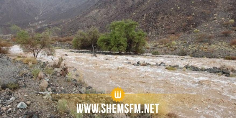 سليانة: انقطاع حركة المرور بالطريق الوطنية رقم 18 الرابطة بين 'بورويس الفلاحي' والسرس