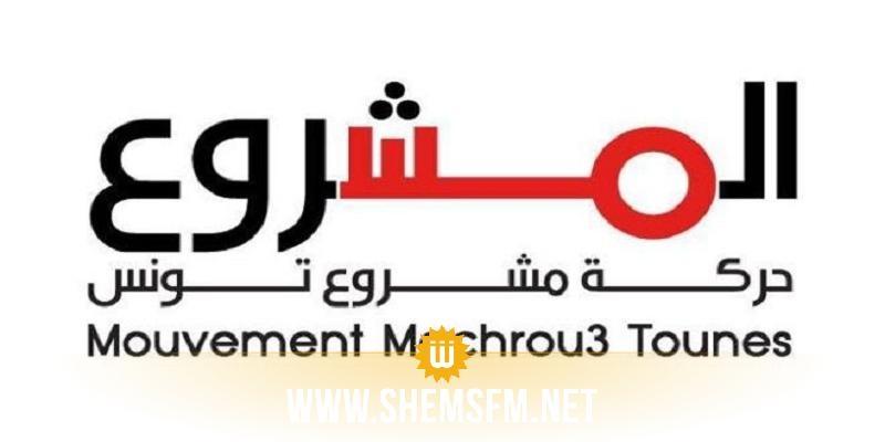 مشروع تونس: 'الحزب الفائز بالانتخابات يجب أن يتحمل مسؤوليته في تشكيل الحكومة'