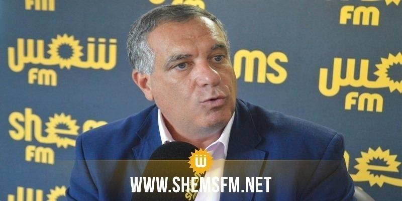 غسان الشقراني: 'حركة الشعب لا تمانع ترشيح غازي الشواشي لرئاسة البرلمان'