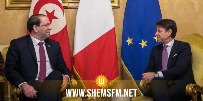 روما: رئيس الحكومة يلتقي رئيس الوزراء الإيطالي