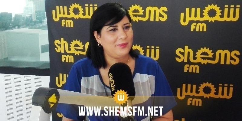 Abir Moussi, la candidate du PDL pour la présidence du nouveau parlement