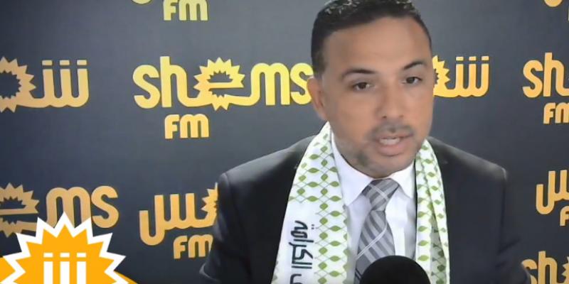 Seifeddine Makhlouf : 'La Coalition Al Karama votera pour Rached Ghanouchi'