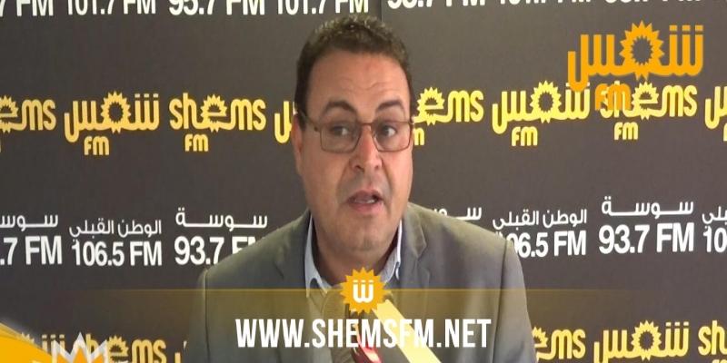 زهير المغزاوي:'النهضة إقترحت التصويت للغنوشي اليوم مقابل الحديث عن الحكومة غدا'