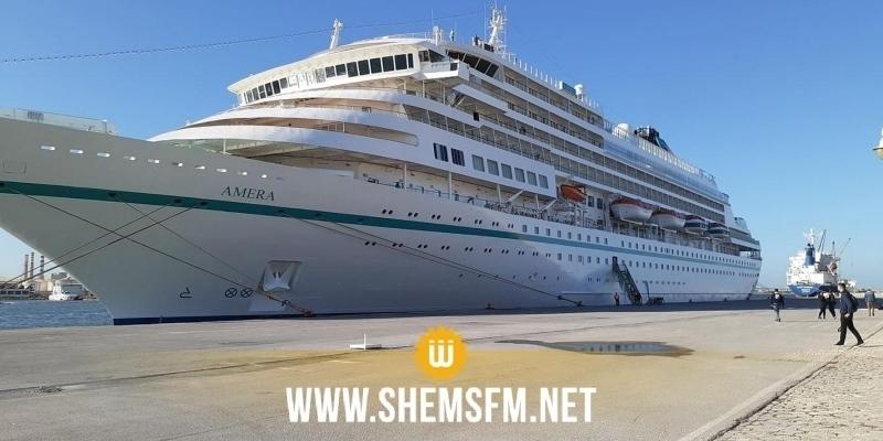 'Amera' le 1er bateau de croisière qui accoste à La Goulette depuis 2017