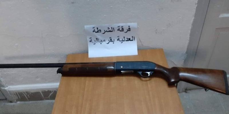 نابل: حجز سلاح تحصل عليه صاحبه من 'جهات مختصة في التهريب'