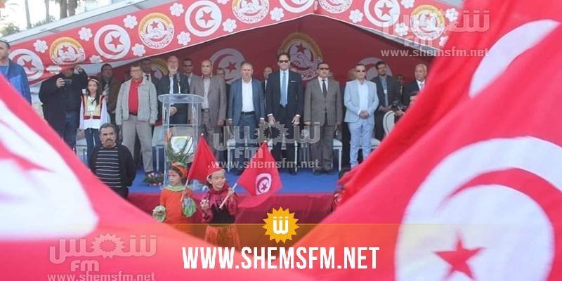 إنطلاق فعاليات الدورة السابعة لمهرجان الإتحاد العام التونسي للشغل للإبداع بالمنستير