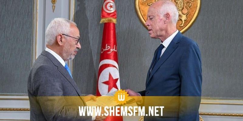 الغنوشي يُقدم لرئيس الجمهورية اسم الشخصية المقترحة لمنصب رئيس الحكومة