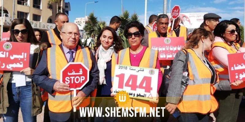 3 عائلات تونسية تُشيع جثامين أقاربهم ضحايا حوادث الطرقات يوميا