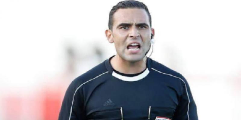 الاتحاد الافريقي لكرة القدم يعين الحكم المساعد خليل الحساني لنصف نهائي كاس افريقيا دون 23 سنة بمصر