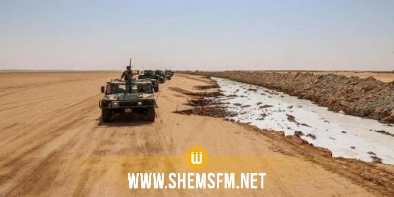 تطاوين: تشكيلة عسكرية تتعرض لإطلاق نار من مجموعة مسلحة من ليبيا
