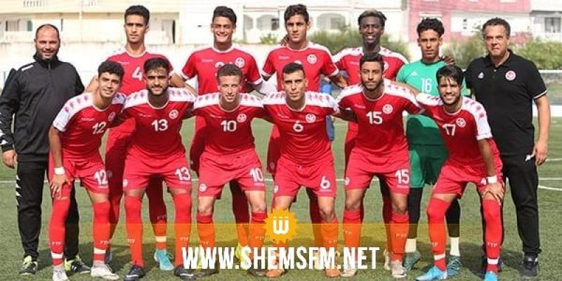 قائمة المنتخب الوطني أواسط لكرة القدم استعدادا لدورة شمال إفريقيا