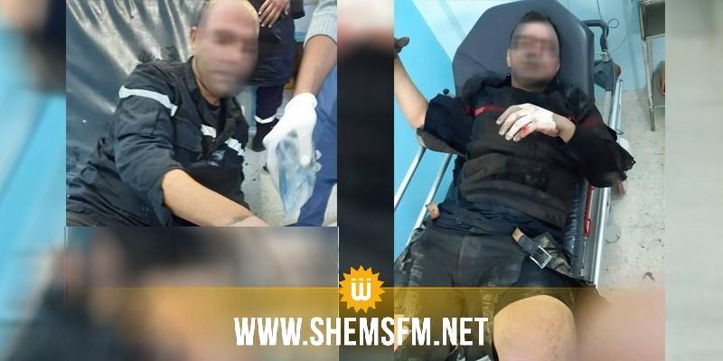 إصابة أعوان حماية مدنية إثر إنفجار خزان محروقات: نقل 3 منهم إلى مستشفى الحروق البليغة ببن عروس