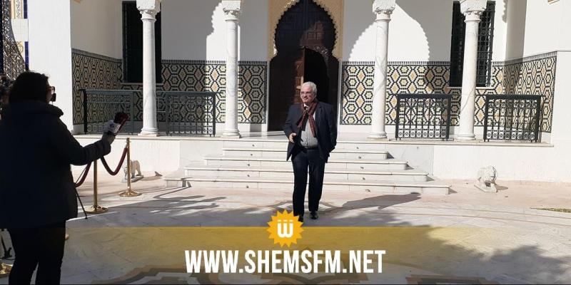 رئيس الحكومة المكلف يلتقي الاعلامي زياد كريشان