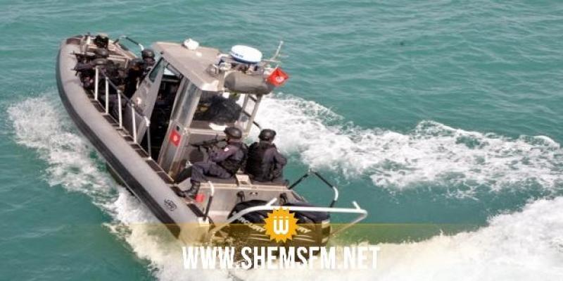 قرقنة: جيش البحر يُنقذ 4 تونسيين و36 مهاجرا أجنبيا غير شرعي
