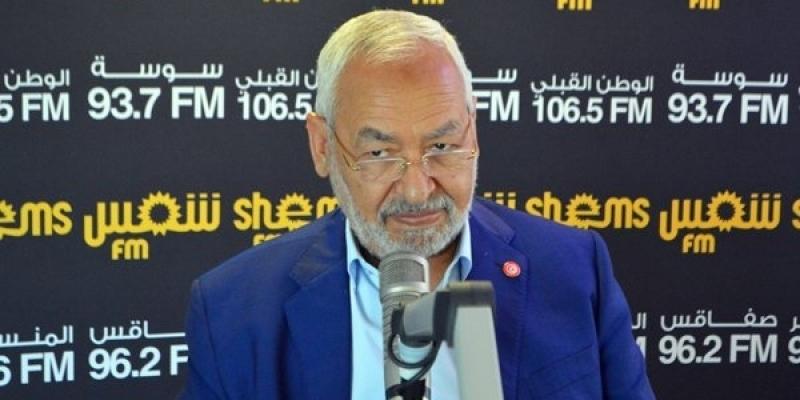 الغنوشي بعد لقاء الجملي: 'النهضة لن تشارك في حكومة تضم قلب تونس'