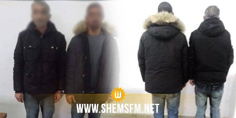 جبل الجلود : القبض على شخصين أحدهما مفتش عنه منذ أكثر من 5 سنوات