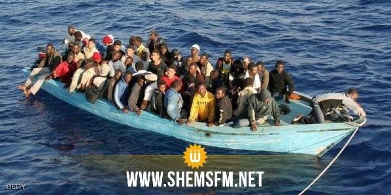 مدنين: إنقاذ 43 إفريقيا بسواحل جربة