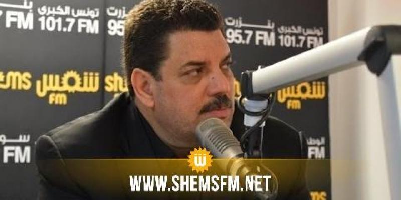 علي الحفصي: 'نداء تونس ليست له رغبة في المشاركة في الحكومة'