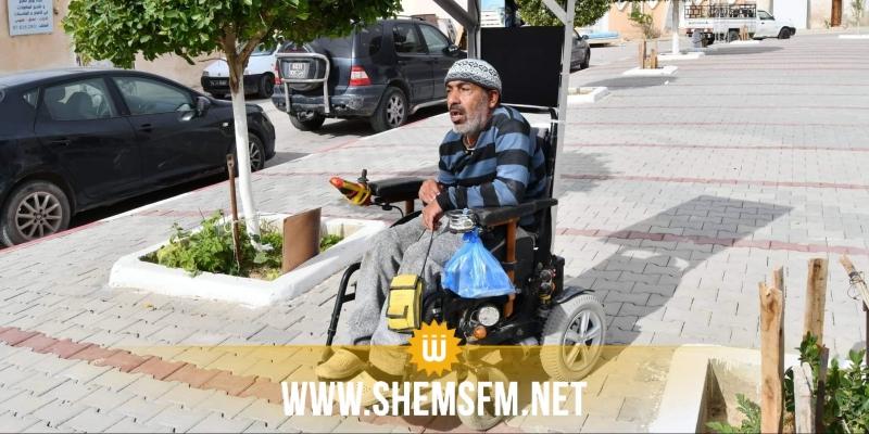 قبلي : شاب يخترع كرسيا متحركا يشتعل بالطاقة الشمسية