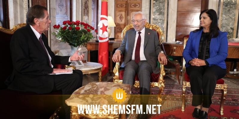 الغنوشي: 'القضية الفلسطينية هي القضية الأولى والوحيدة التي يجتمع حولها كل التونسيين'