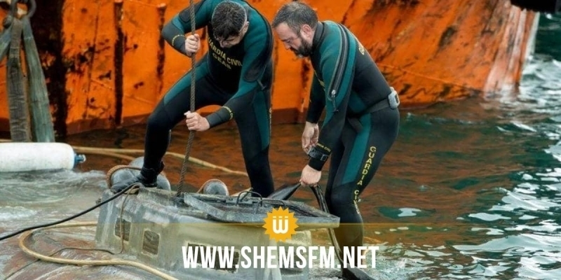 Espagne : 3 tonnes de cocaïne découvertes dans un sous-marin