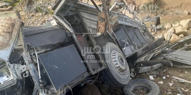 Accident de Amdoun : le nombre des victimes est de 26 morts